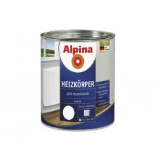 Эмаль алкидная Alpina Heizkoerper/для радиаторов белая 0,75 л