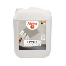Грунтовка для наружних и внутренних работ Alpina Грунт 10 л