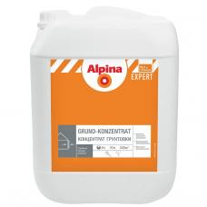 Грунтовка для наружных и внутренних работ Alpina Expert Grund-Konzentrat/Грунт-концентрат 10 л