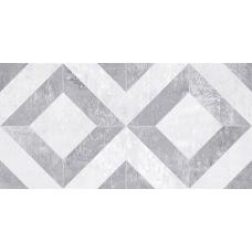 Troffi серый узор 00-00-1-08-01-06-1339 20х40 Настенная плитка
