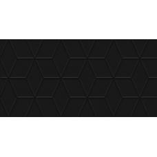 Tabu чёрный рельеф 30х60 Настенная плитка