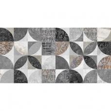 Focus серый узор 34085 25*50 Настенная плитка