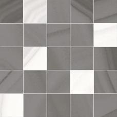 Space коричневый мозаичный ММ34105  25*25 Декор