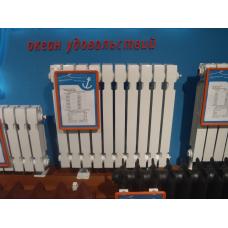 Радиатор  чугунный ГРАНД-500 белый с дополн. опрессовкой (1 секция)(Китай)