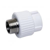 Муфта PPRC комбинир-ая 20х1/2 (под ключ) НР (ПП тип 3) ( Pro Aqua )1/150 шт