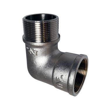 Угольник никель ВР/НР Ду-40 (Италия)