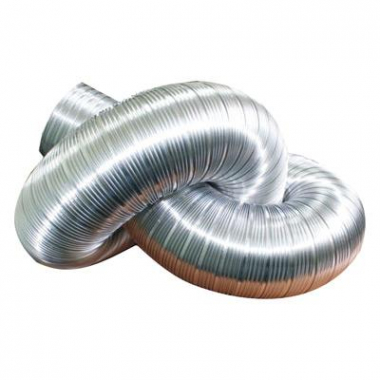 ВЕНТС Канал алюминиевый Компакт 100 (3 метра)