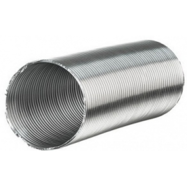 ВЕНТС Канал алюминиевый Компакт 125 (3 метра)