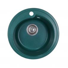 Мойка комп.Granfest Rondo GF-R450 зеленый 305 круглая (GF-45) (d450)