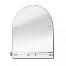 """Зеркало модель """"10 / 0172"""" (500 х 600мм) с полкой"""