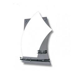 "Зеркало модель ""62П / 0435"" (550 х 750мм) с полками"