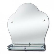 """Зеркало модель """"Т / 0226"""" (550 х 550мм) с полкой"""