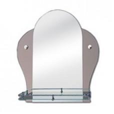 """Зеркало модель """"ТТ"""" / 0468 (520 х 560мм) с полкой"""