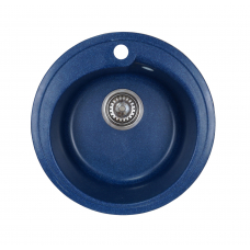 Мойка комп.Granfest Rondo GF-R450 Синий 323 круглая (GF-45) (d450)